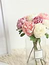 زهور اصطناعية 1 فرع كلاسيكي الزفاف Wedding Flowers Camellia أزهار الطاولة