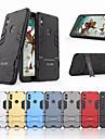 Кейс для Назначение Xiaomi Redmi S2 Защита от удара / со стендом Кейс на заднюю панель Однотонный Твердый ПК для Xiaomi Redmi S2