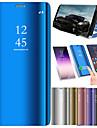 غطاء من أجل Huawei Huawei Mate 20 Pro / Huawei Mate 20 تصفيح / مرآة / قلب غطاء كامل للجسم لون سادة قاسي جلد PU إلى Mate 10 / Mate 10 pro / Mate 10 lite