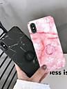 Кейс для Назначение Apple iPhone XR / iPhone XS Max Кольца-держатели / Ультратонкий / Матовое Кейс на заднюю панель Мрамор Твердый ПК для iPhone XS / iPhone XR / iPhone XS Max