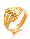 Dame Klassisk Ring Justerbar ring - Gullbelagt damer, Luksus, Overdrivelse, Mote Smykker Gull Til Bryllup Gave