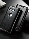 CaseMe Etui Til Sony Xperia XZ2 Compact Lommebok / Kortholder / med stativ Heldekkende etui Ensfarget Hard PU Leather til Xperia XZ2 Compact