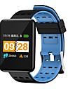 Indear J20 Herren Smart-Armband Android iOS Bluetooth Smart Sport Wasserfest Herzschlagmonitor Blutdruck Messung Schrittzaehler Anruferinnerung AktivitaetenTracker Schlaf-Tracker Sedentary Erinnerung