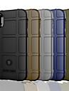 Кейс для Назначение Apple iPhone XR / iPhone XS Max Матовое Кейс на заднюю панель Однотонный Твердый ПК для iPhone XS / iPhone XR / iPhone XS Max