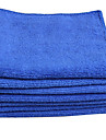 1 Piece Microfiber Microfiber Towel Durable Blue
