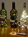 2m Fili luminosi 20 LED LED Dip Bianco caldo / Luce fredda / Multicolore Nuovo design / Decorativo / Matrimonio Batterie alimentate 1 set