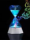 Brelong usb recargable 7 colores llevo reloj de arena luz nocturna