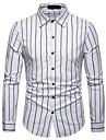 Camicia Per uomo Lavoro / Essenziale A strisce