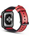 Bracelet de Montre  pour Apple Watch Series 4/3/2/1 Apple Boucle Classique Vrai Cuir Sangle de Poignet