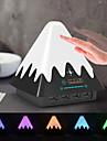 Brelong gesto colorido detectando nieve montana luz nocturna con puerto de carga usb 1 pc