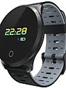 JSBP L5PLUS Herren Smart-Armband Android iOS Bluetooth Smart Wasserfest Herzschlagmonitor Blutdruck Messung Touchscreen Schrittzaehler Anruferinnerung AktivitaetenTracker Schlaf-Tracker Sedentary