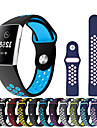 Watch Band for Fitbit Charge 3 Fitbit Sport Band Silicone Wrist Strap