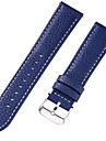 Genuine Leather / Leather / Calf Hair Watch Band Strap for Blue 17cm / 6.69 Inches / 18cm / 7 Inches / 19cm / 7.48 Inches 1cm / 0.39 Inches / 1.2cm / 0.47 Inches / 1.3cm / 0.5 Inches