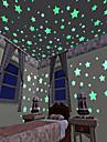 Koriste-seinätarrat - 3D-seinätarrat / Hohtavat seinätarrat Maisema Olohuone / Makuuhuone / Keittiö