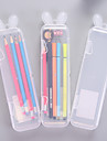 Pencil Cases Transparent, Plastics Translucent Organization 1pc