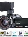 QQT P13 vlogging Çıkarılabilir / Parti / Büyük indirim 64 GB 1080P / 60fps / 120fps 16 mp 8X 1920 x 1080 Piksel 4.1 inç 16.0MP CMOS H.264 Tek Atış / Arka Arkaya Çekim Modu / Zaman Atlamalı Hayır -4/3