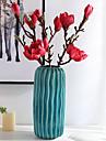 פרחים מלאכותיים 1 ענף קלאסי ארופאי סגנון מינימליסטי סחלבים פרחים נצחיים פרחים לשולחן
